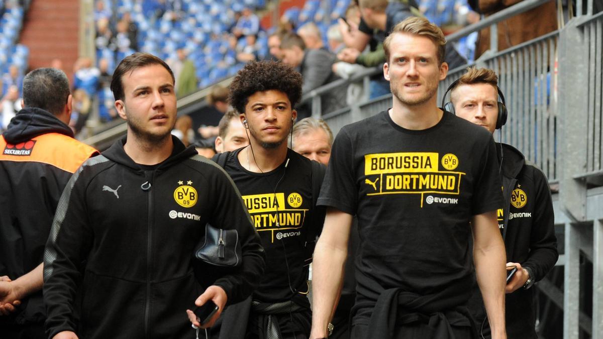 Einst Weggefährten beim BVB und im DFB-Team: Mario Götze (l.) und André Schürrle