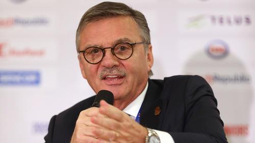 Rene Fasel ist IIHF-Präsident