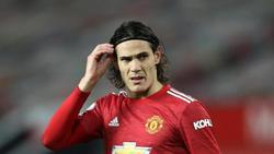 Wurde für drei Pflichtspiele gesperrt: Edinson Cavani von Manchester United
