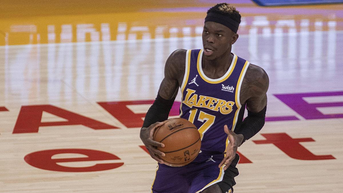 Dennis Schröder siegte mit seinen LA Lakers