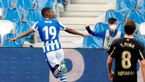 Der einstige BVB-Stürmer Alexander Isak steht bei zwölf Saisontoren in Spanien