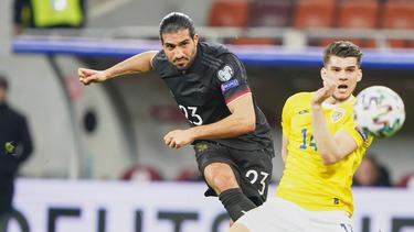 BVB-Allrounder Emre Can bei der Nationalmannschaft in Action
