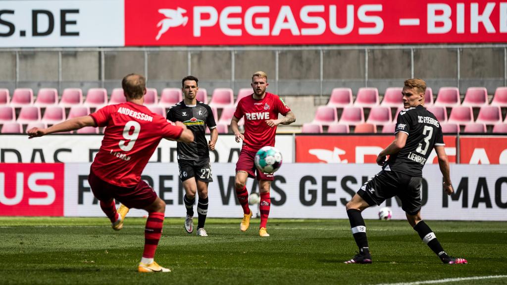1. FC Köln unterliegt dem SC Freiburg deutlich