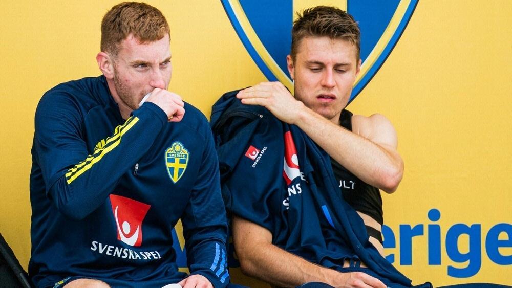 Dejan Kulusevski (l.) und Mattias Svanberg stehen vor Rückkehr in Schweden-Kader