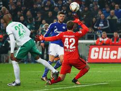 Sieht zuletzt nicht immer gut aus: Werder-Keeper Wiedwald