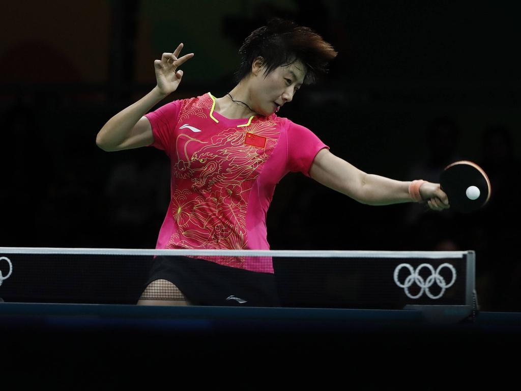 Ding Ning triumphierte im Tischtennis-Finale