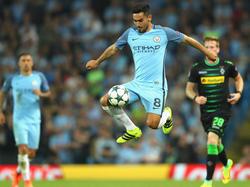 Grüßt in England von der Tabellenspitze: İlkay Gündoğan mit Manchester City