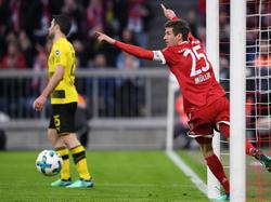 Thomas Müller und Co. ließen gegen den BVB nichts anbrennen