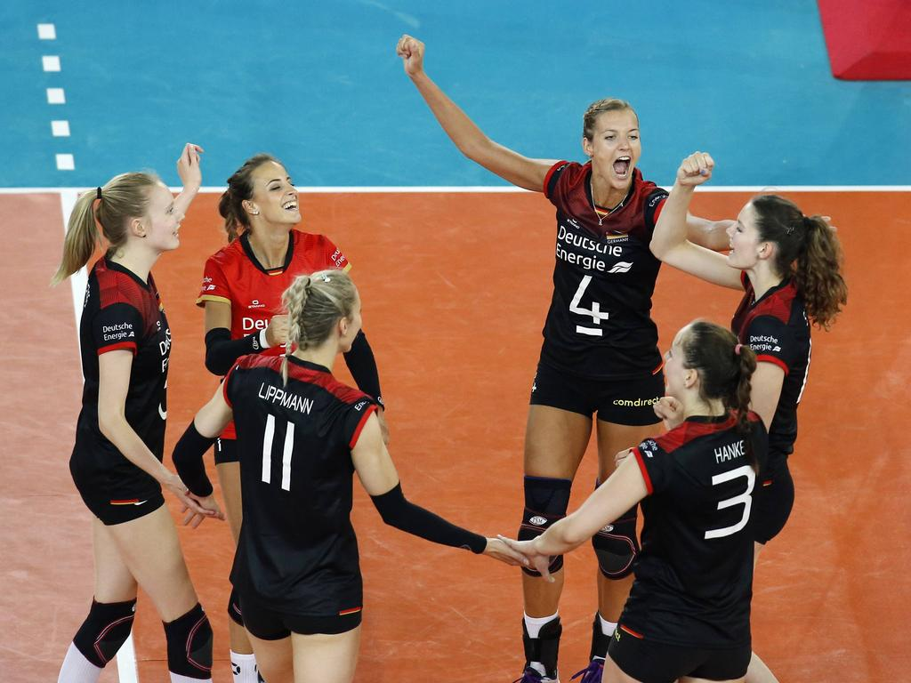 Nächster Erfolg für die deutschen Volleyballerinnen