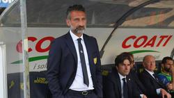 Chievo-Trainer Lorenzo D'Anna muss mti seinem Team um die Erstklassigkeit bangen