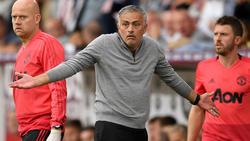 José Mourinho steht zur Zeit mächtig in der Kritik