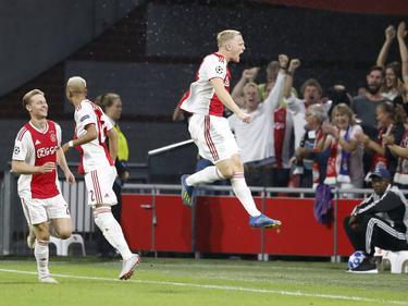El Ajax sacó una gran ventaja en la ida. (Foto: Getty)