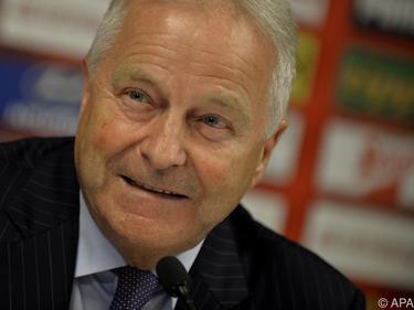 ÖFB-Präsident Windtner zog eine erste Bilanz