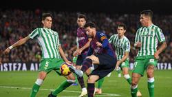 Kicken Marc Bartra (l.) und Lionel Messi bald wieder zusammen?