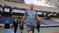 Arjen Robben bestreitet seine letzte Saison für den FC Bayern