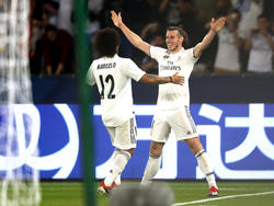 Bale celebra su tercer gol contra el Kashima. (Foto: Getty)