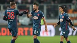 Fortuna Düsseldorf will auch gegen RB Leipzig gewinnen
