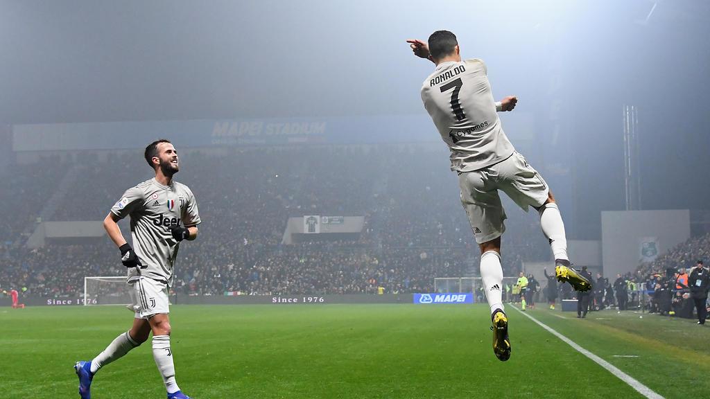 Cristiano Ronaldo erzielte bereits 19 Liga-Tore