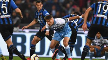 Lazio Rom setzte sich im Pokalfinale gegen Atalanta durch