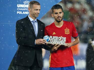 Dani Ceballos war der beste Spieler der U21-Europameisterschaft