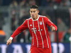 James Rodríguez von Bayern München