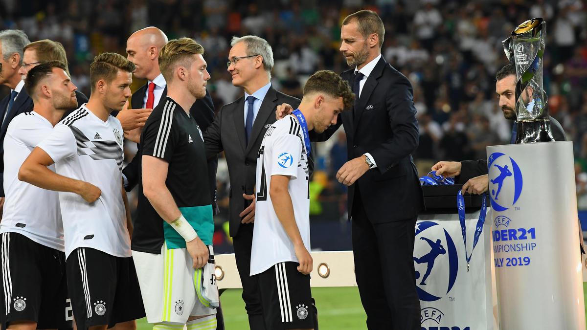Trotz einer guten U21-EM überwiegt bei den deutschen Spielern nach der Niederlage im Finale die Enttäuschung