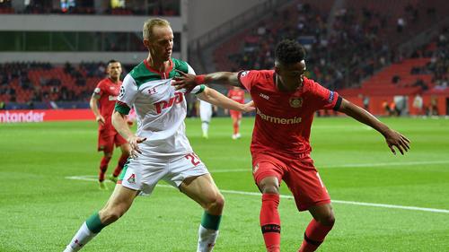 Bayer Leverkusen verliert in der Champions League