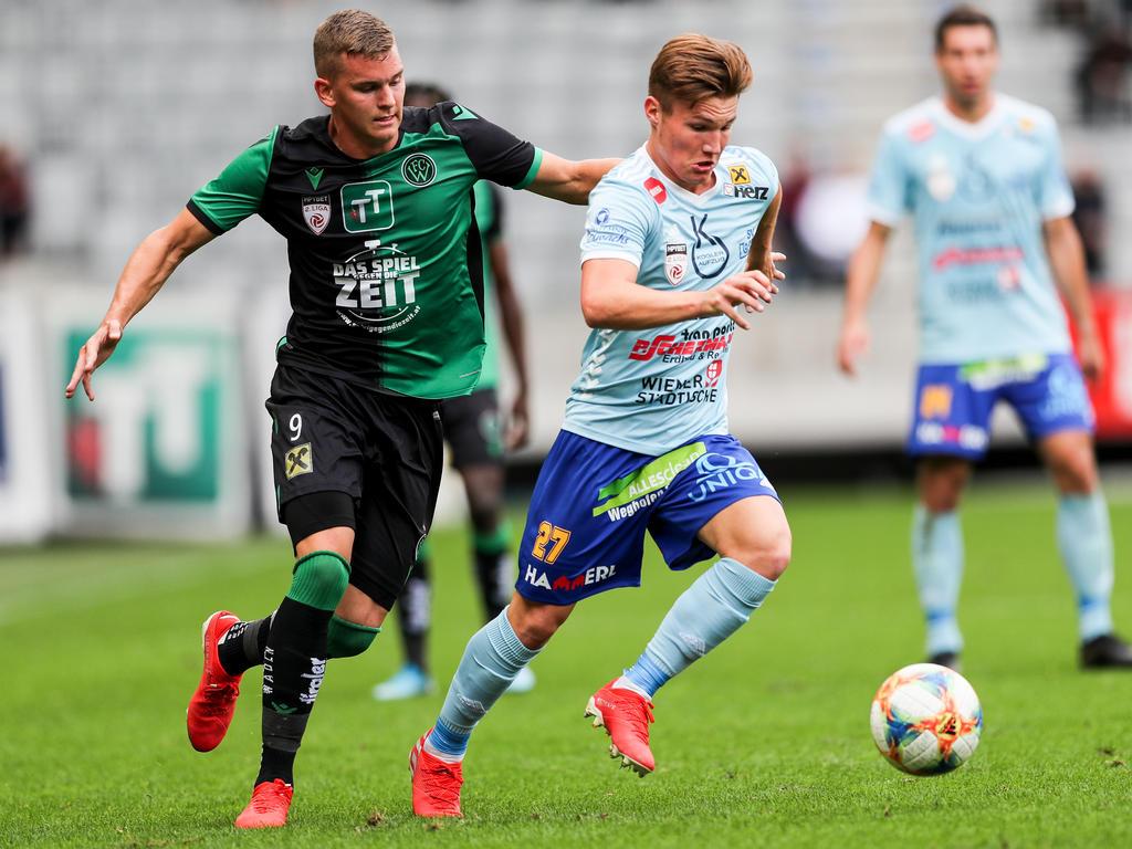 Der SV Lafnitz holte in Innsbruck einen klaren 3:0-Auswärtssieg