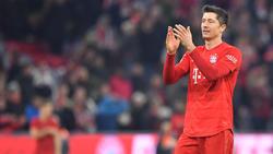 Robert Lewandowski ist beim FC Bayern aktuell in Top-Form