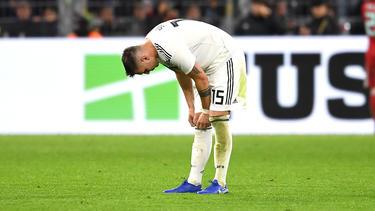 Niklas Süle vom FC Bayern bangt um die EM-Teilnahme