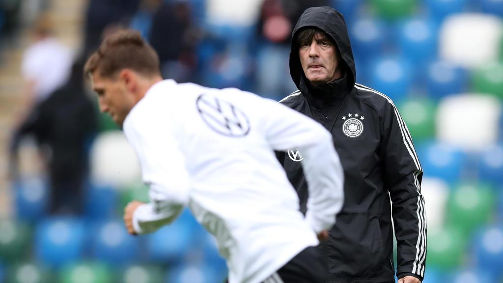 Niklas Stark (vorne) will endlich für Deutschland debütieren
