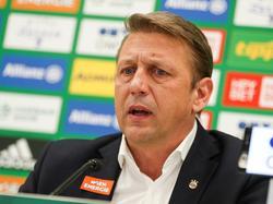 Sportdirektor Zoran Barišić ist mit der Entwicklung bei Rapid Wien zufrieden