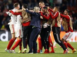 El Benfica logró la proeza en Holanda.