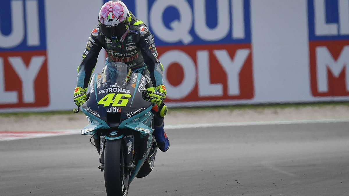 Rossi hat über die Tests in der MotoGP gesprochen
