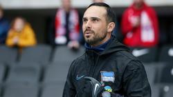 Herthas Co-Trainer Alexander Nouri gelobt Besserung
