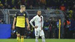 Leisteten sich einen Schlagabtausch über die sozialen Medien: Erling Haaland (l.) und Neymar