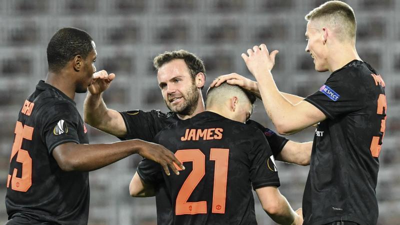 Nach dem Kantersieg beim Linzer ASK kann Manchester United für das Viertelfinale planen