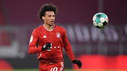 Leroy Sané vom FC Bayern legte Extra-Schichten ein