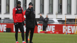 Anthony Modeste (l.) könnte den 1. FC Köln noch per Last-Minute-Transfer verlassen haben