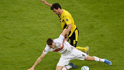 Mats Hummels musste beim BVB zur Pause ausgewechselt werden