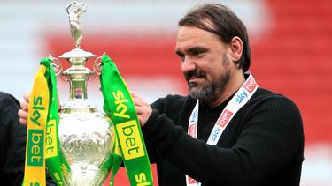 Daniel Farke wurde zum Championship-Manager des Jahres ernannt