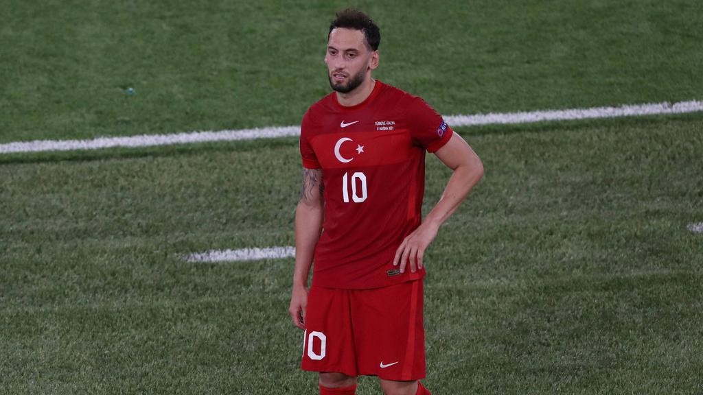 Hakan Calhanoglu war gegen Italien kein Faktor