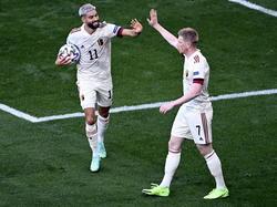 Die Belgier stehen vor dem Aufstieg ins Achtelfinale