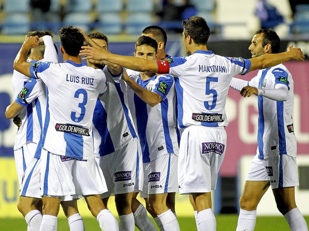 El Leganés pudo también con Osasuna y mira hacia arriba. (Foto: Imago)
