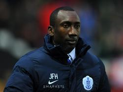 Jimmy Floyd Hasselbaink, coach of the Queens Park Rangers