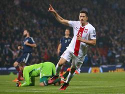 Lewandowski ist auch für Polen ein echter Torgarant