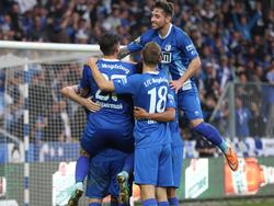 Magdeburg bejubelt drei Punkte gegen Preußen Münster