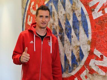 Miroslav Klose ist neuer Trainer der Bayern-Junioren (Bildquelle: Twitter @FCBayern)