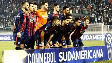 Once de San Lorenzo contra Deportes Tamuco. (Foto: Imago)