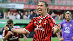 Zlatan Ibrahimovic erzielte 42 Tore für AC Mailand